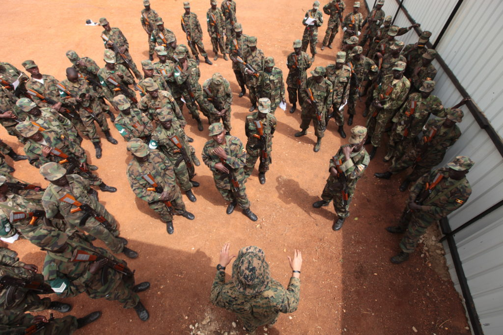 'Small footprint, high payoff': US Marine team trains Ugandan forces to face al-Shabaab