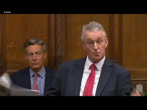 Video: Hilary Benn Scorns UK Government's Brexit Strategy
